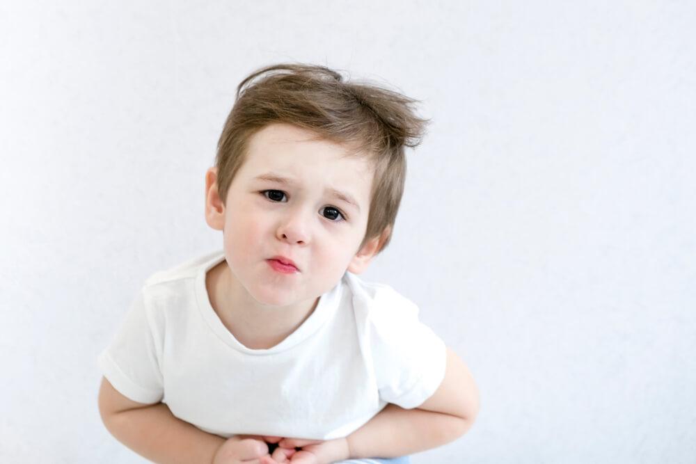 胃下垂の原因(小児の場合)